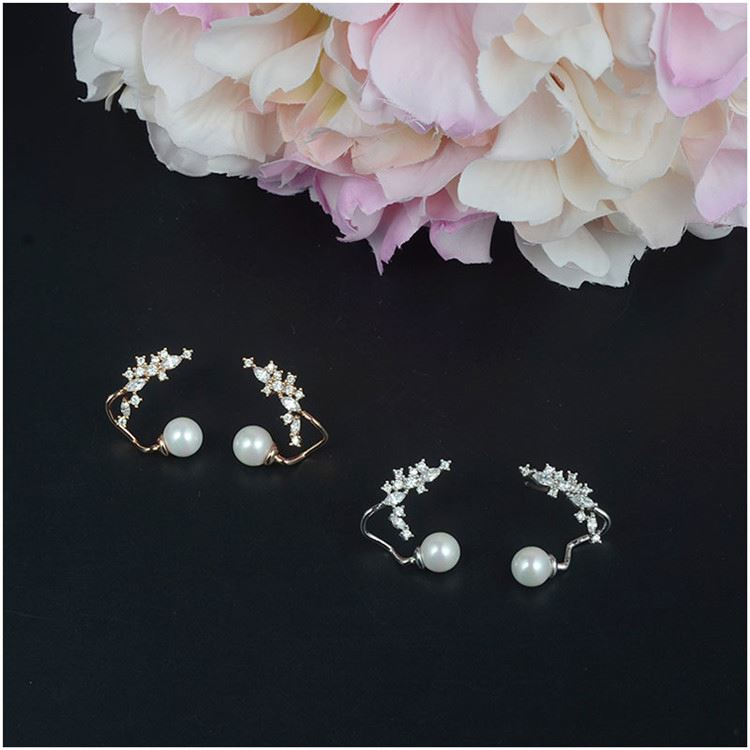 Modern style superior quality victorian style earrings directly sale