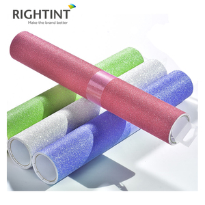 colorful self adhesive glitter paper roll