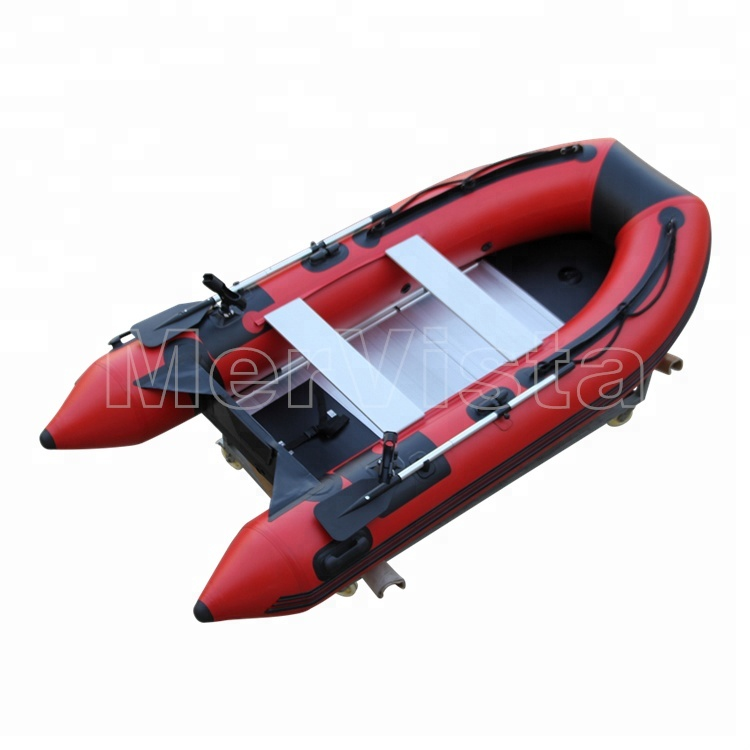 2018 China Factory Customized PVC Electric Motor Rigid Inflatable Boat For Sale