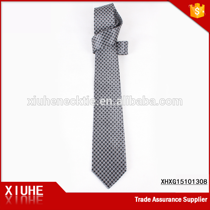 Men's Silk Yarn Dyed Plaid Necktie