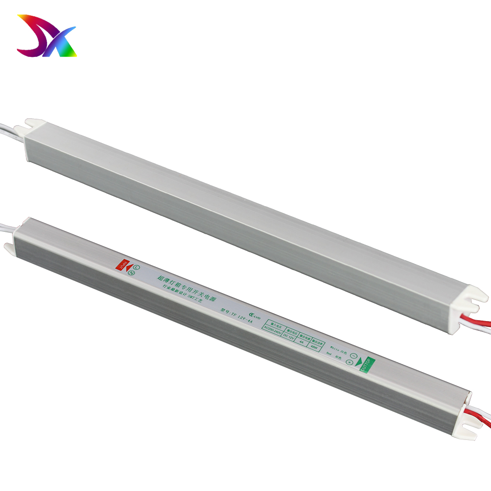 12 V 4A 48 Watt Led Ultra Thin Schlank Stromversorgung