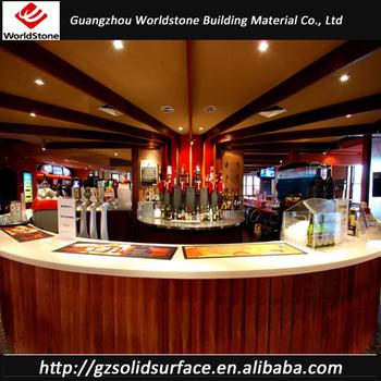 Half Round Model Restaurant Bar Counter Design Buy
