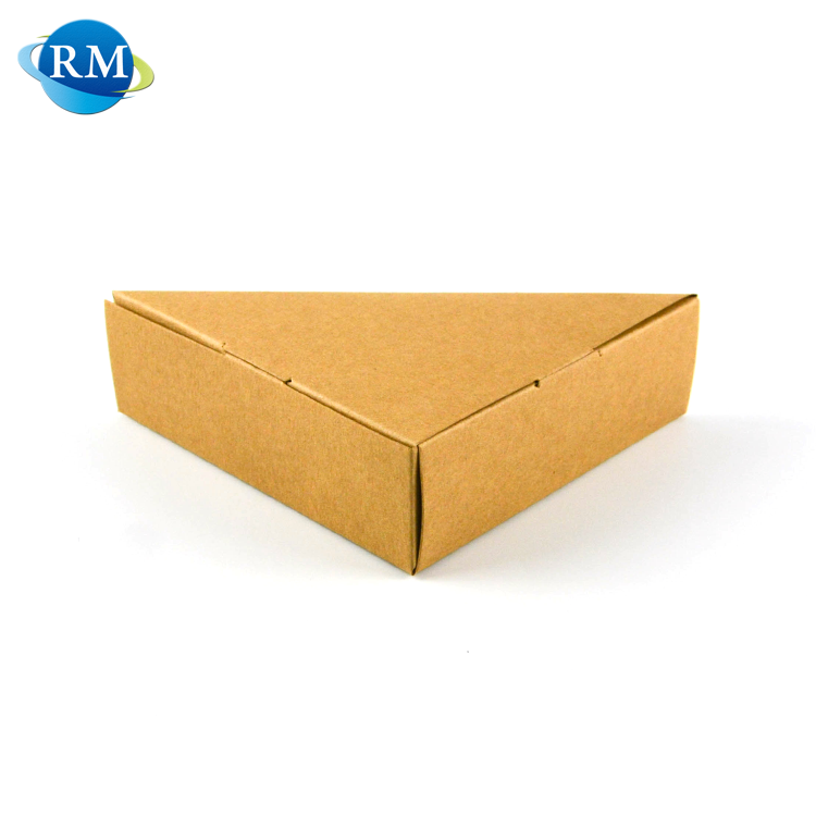 New Food Grade Package Kraft Paper Sandwich Box With Clear Window