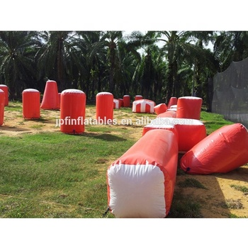 Cheap inflatable paintball bunkers for sale/used paintball bunker field for outdoor