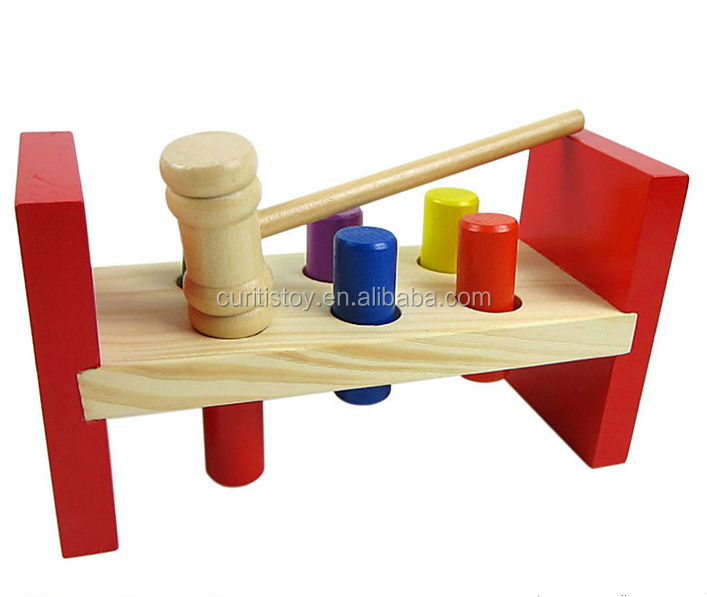 2016 Wholesale Top Selling Toys Wooden Hammer Knock Pegs Game Cheap Baby  Noise Maker Toys - Buy Noise Maker,Noise Toys,Wholesale Toys Product on