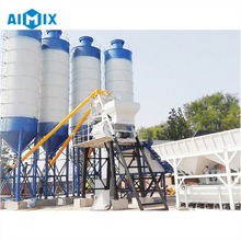 New type of HZS60 cement mixing machine cement plant sale