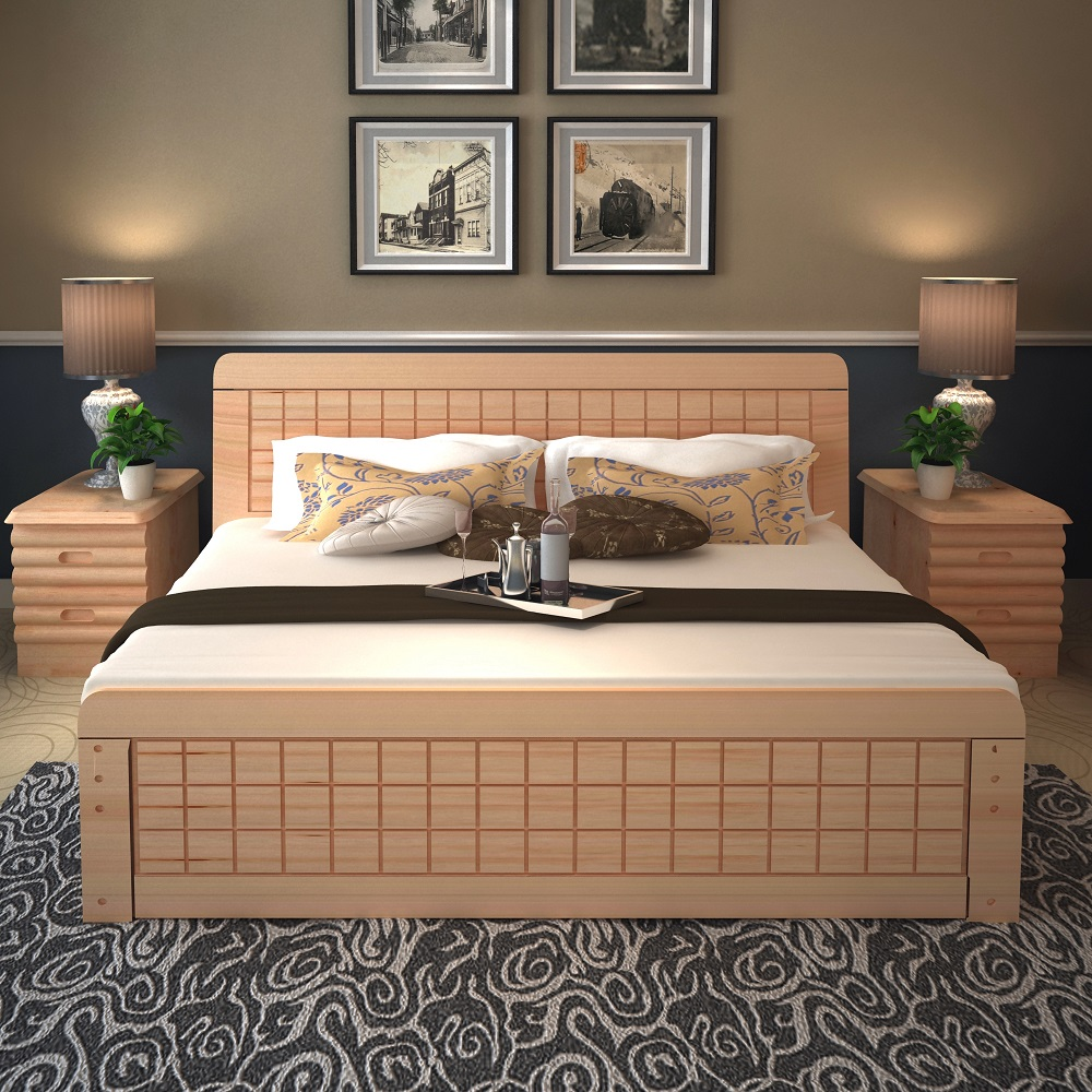 Double bed designs box images for Double bed design photos