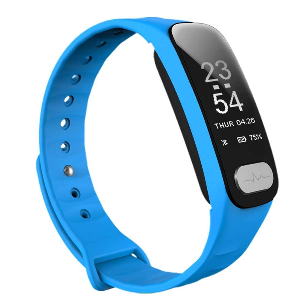 WFDRD R11 Fitness Tracker,Smart Band Calorie Counter Sports Bracelet Health Monitor Wristband W/24h Continuous Heart Rate Sleep Monitor Waterproof Smart Watch for Android & IOS Phones