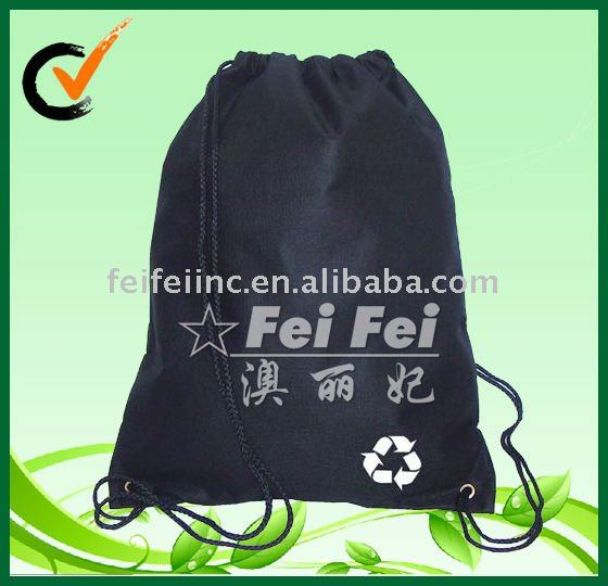 Non woven drawstring sports backpack
