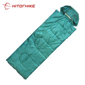 Hitorhike Military Camouflage Envelope Sleeping Bag with Hood