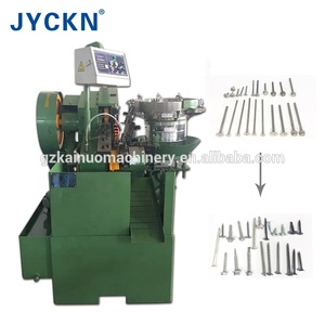 thread rolling machine/screw making machine
