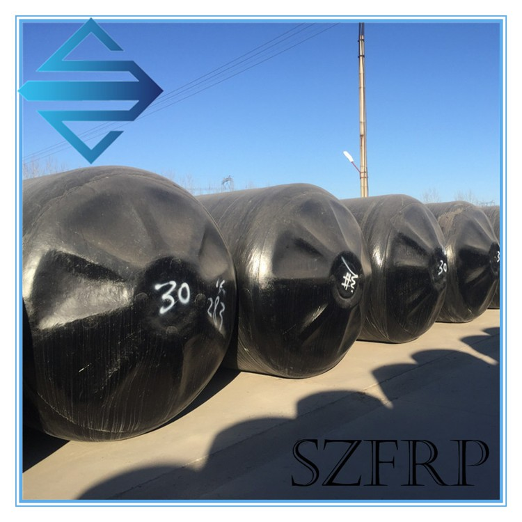 Plastic septic tank for household waste water treatment