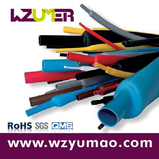 WZUMER Multicolor Releasable PVC Heat Shrink wire protection Sleeve For Inductors