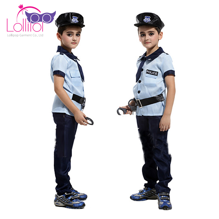 Directly factory sell swat costume role play unique Halloween cosplay costume for boys