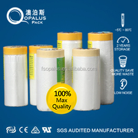 PVC Film Painting Jobs Masking Film Tape