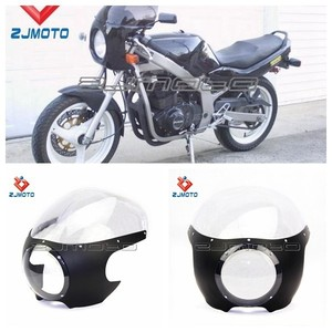 Motorcycle Headlight Fairing Custom Head lamp Cowl ABS Material Front Mask Fairing For Sportster W/39mm Forks Mask Fairing