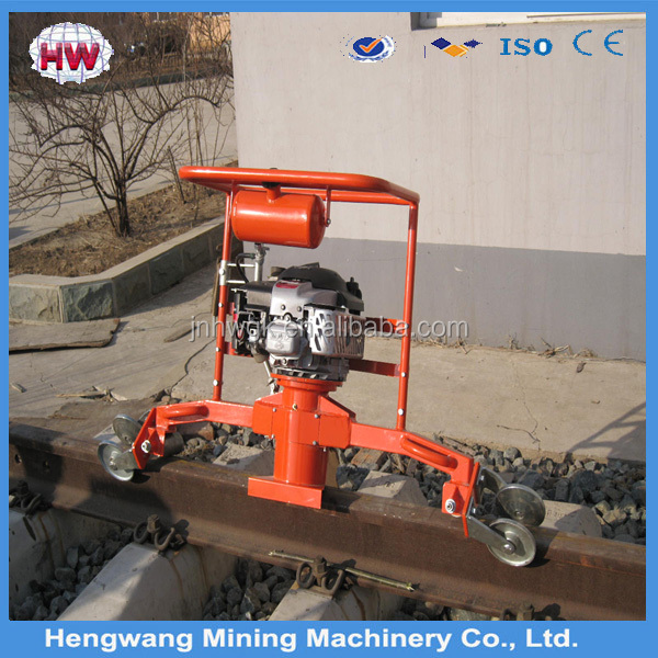 Railway mechanical electric profiling rail grinding machine