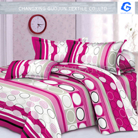 100% Polyster pigment Fabric /bedsheet by CHANGXING GUOJUN TEXTILE CO.,LTD sale online