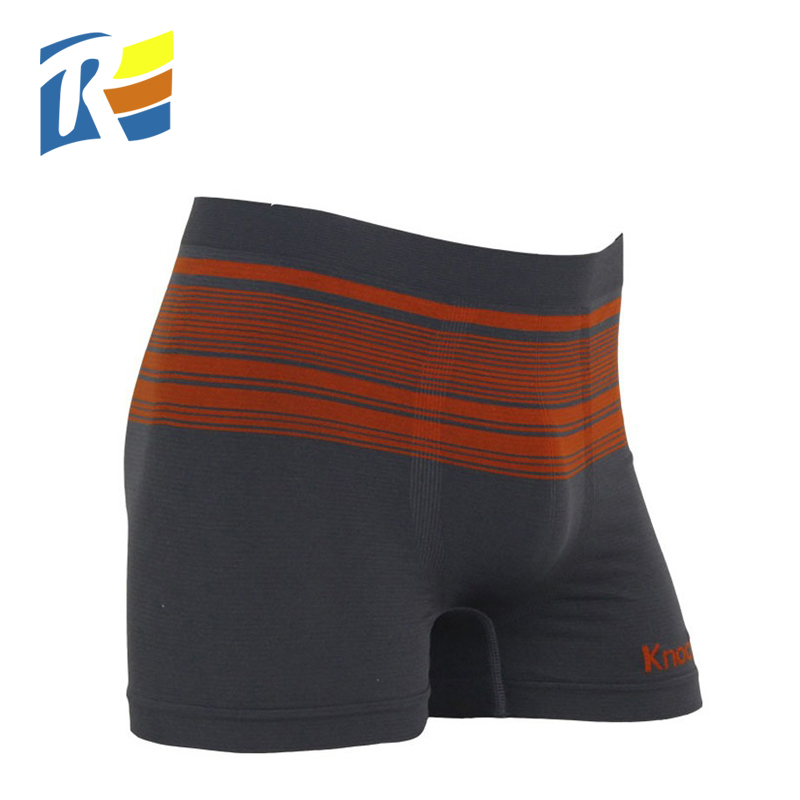 Hot sale oem nylon spandex sexy mature underwear men boxer para hombre
