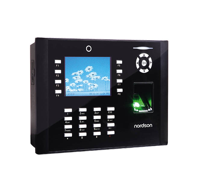 8000 Fingerprint TFT Screen Free Access Control Time Attendance with Camera and Software