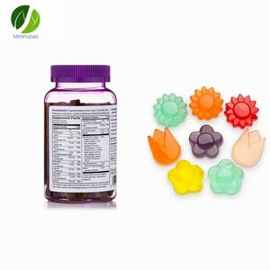 Popular tasty hair skin nails gummies for hair nails growth and skin care
