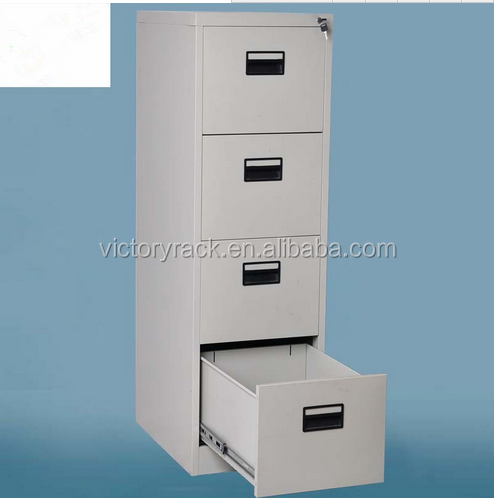 cheap Steel Storage Metal Office furniture 4 Drawer Steel Filing Cabinet