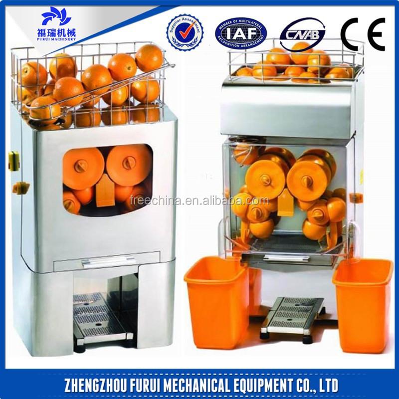 warm te koop fr verse jus d 39 orange automaat oranje juicer machine groente fruit verwerking. Black Bedroom Furniture Sets. Home Design Ideas