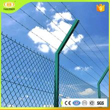 High quality cheap chain link fence panels in iron/steel wire mesh
