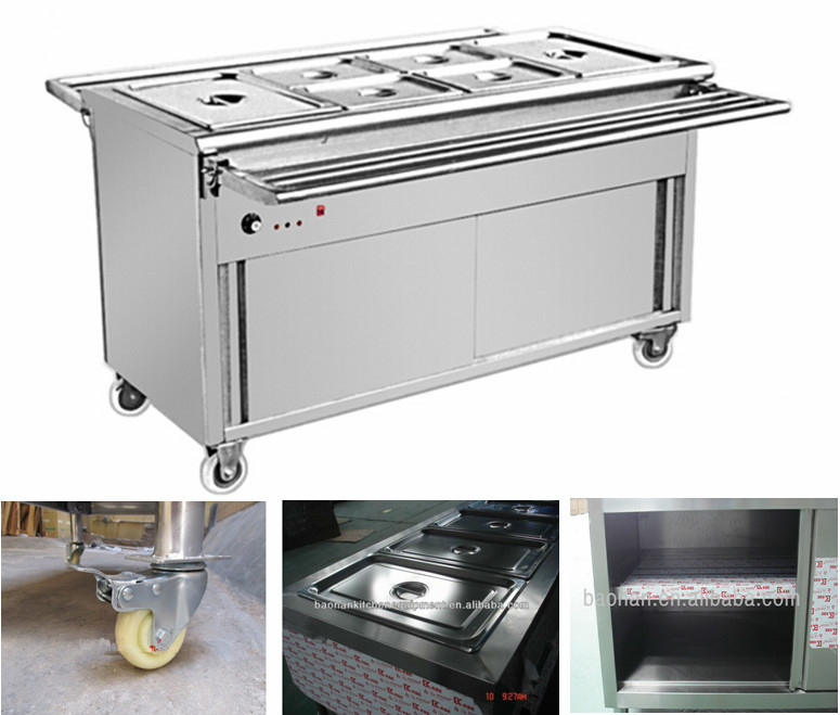Bain Marie Food Service Kitchen Equipment Manufacturer, View food ...