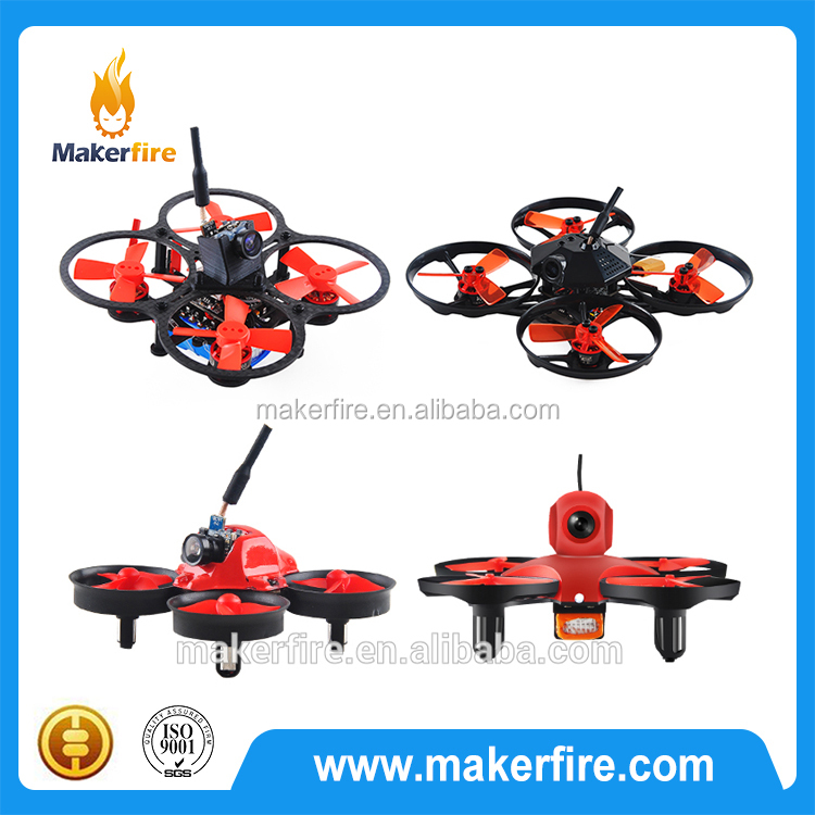 Makerfire brand tiny whoop FPV RC drone Compatible with DSM receiver F3 flight controller