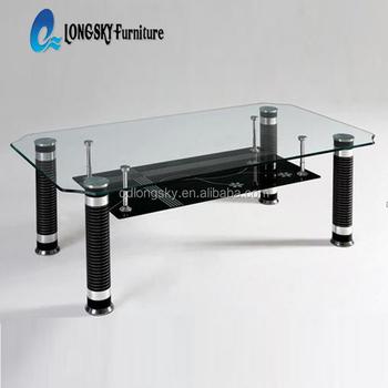 Ls-1010 Vetro Top Commercio All\'ingrosso Di Disegno Moderno Tavolino ...