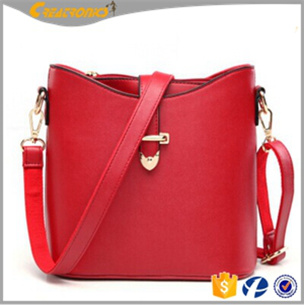 Wholesale Shoulder Bag Factory Direct Latest Design Women Bucket Bag High Quality Leather Handbags In Bangkok