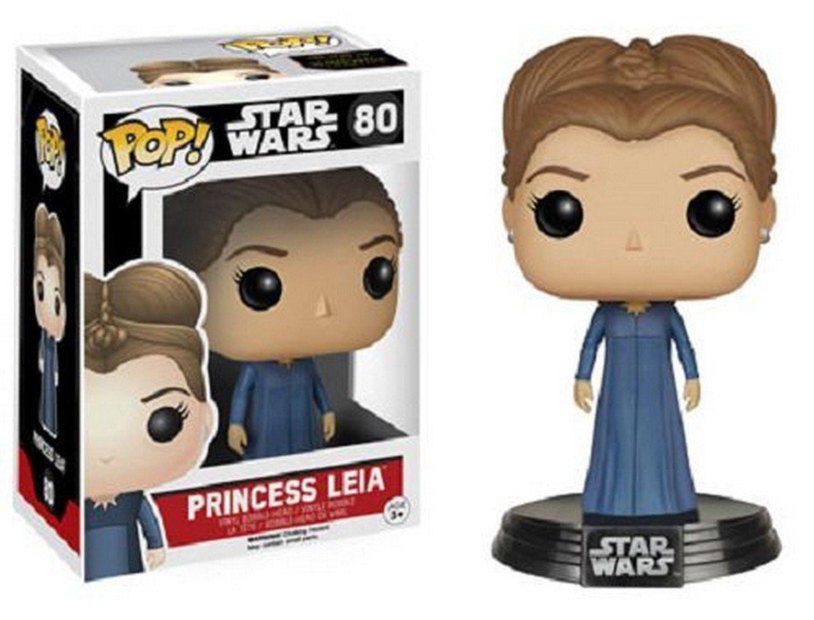 Princess Leia Pop! Star Wars 7 The Force Awakens Vinyl Bobble Head
