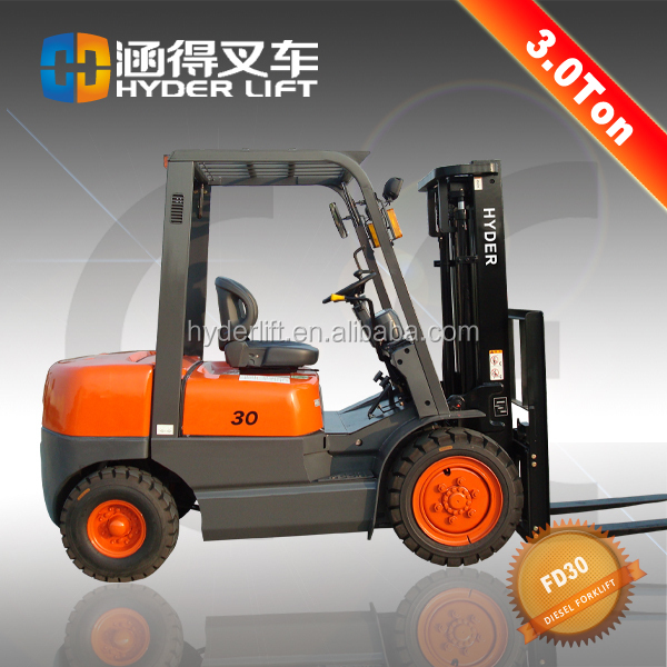 hydraulic lifter price 3t diesel forklift Used trucks for sale in United Arab Emirates