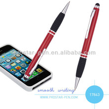 Aluminium stylus ball pen metal touch pen with grip