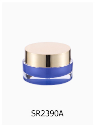 Chinese factory direct sales good quality aluminum cream airless jar ,Round Aluminum Cosmetic Cream Jar