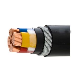 230v Power Cable Screened 4 Core 5 Core 10mm XLPE/PVC Cable 70mm2 120mm 240mm Oxygen Free Copper Wire