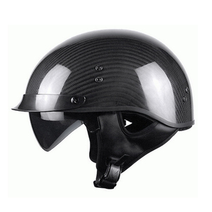 DOT ECE Certification Matte Black Carbon Fiber Motorcycle helmet
