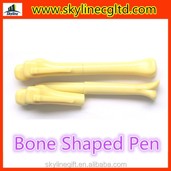 Promotional pen bone shaped ball pen gifts for medical doctors