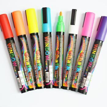 Water Based Fluorescent Marker Liquid Chalk Marker Pen Window Marker Glass Marker Dry Wet Erase Marker Buy Chalk Marker Window Marker Fluorescent