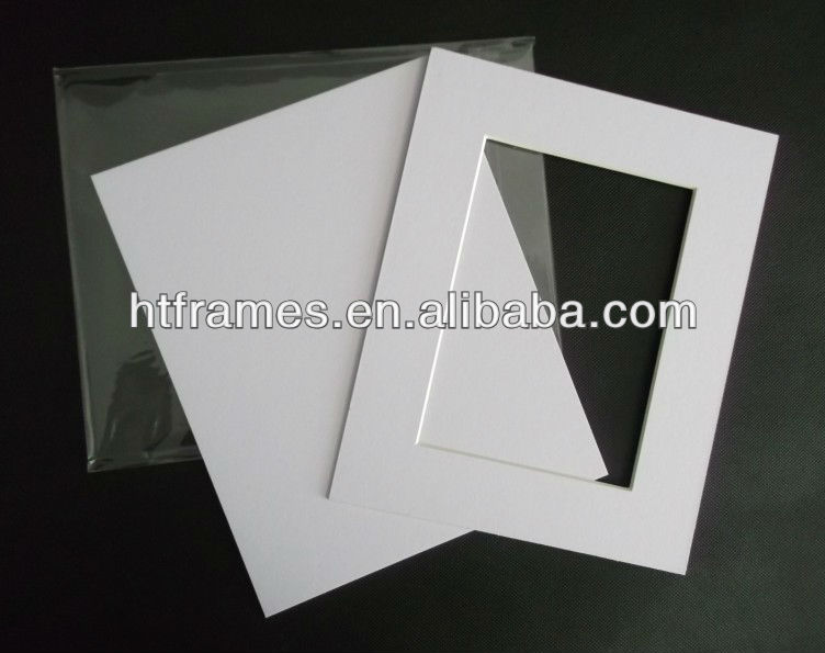 High Quality Acid Free White Pre-cut Mat Board And Backing Board ...