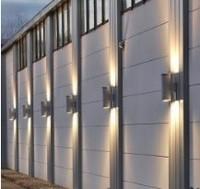 Buy DLC UL listed 347v Outdoor wall light 90w LED wall lamp wall ...