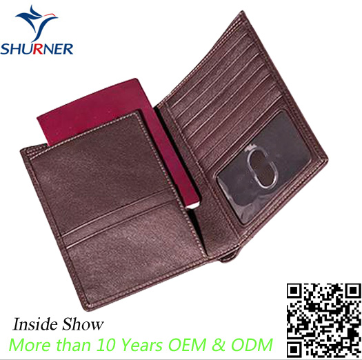 Passport Cover Manufacturer OEM Logo Universal Rfid Blocking Passport Holder