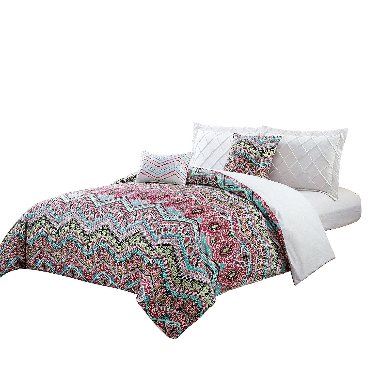 Buy Retro Comforter Set Floral Paisley Printed Pattern 100