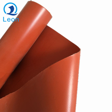 temperature fire prevention 7628 double sides silicone rubber coated fiberglass cloth fabric