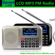 L-228 FM radio digital music player digital mp3 player manual
