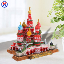 3D miniature famous building resin russia st. basil's cathedral model