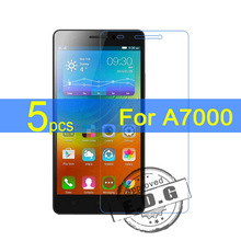 5pcs Ultra Clear LCD Screen Protector Film Cover For Lenovo A7000 Film  +  cloth