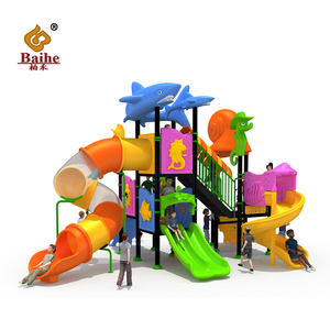 2018 New water slides for children play game