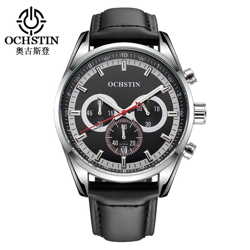 OCHSTIN 2019 sports wrist watches for men casual luxury brand quartz waterproof clock gifts Mens militarymodern chronograph фото
